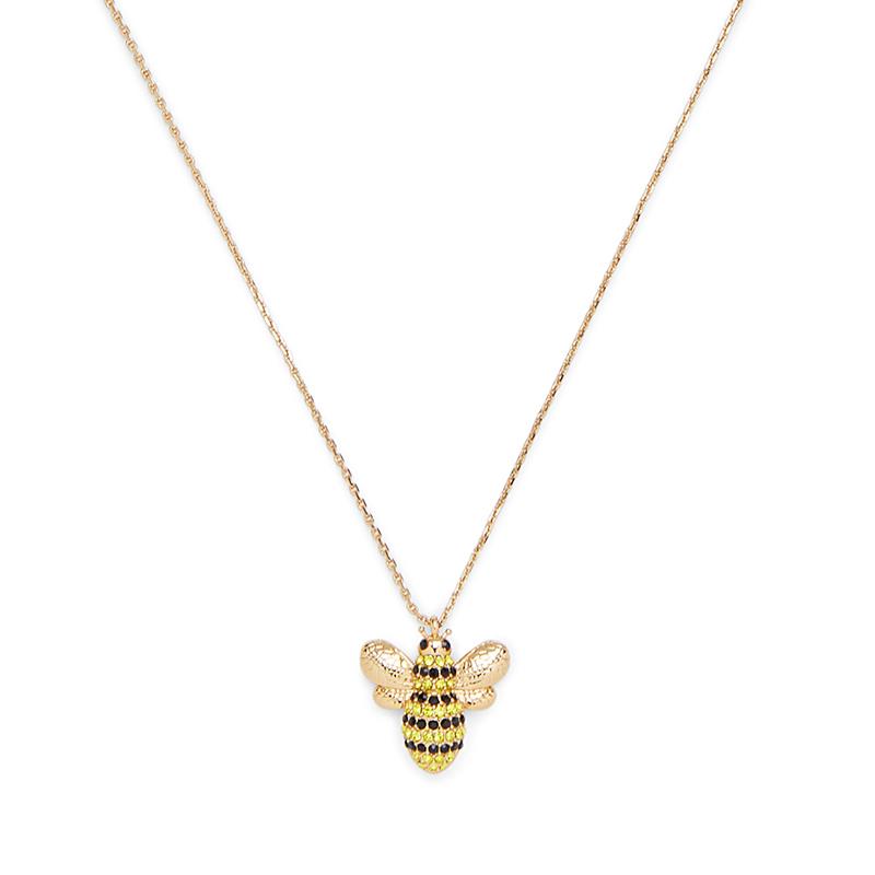 Kate Spade Picnic Perfect Pave Bee Mini Pendant
