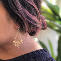 User Generated Content for Perry Street Emlyn Filigree Earrings