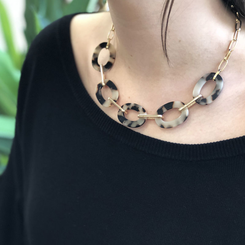 User Generated Content for SLATE Jenna Tortoise Necklace