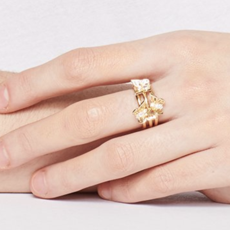 User Generated Content for Kate Spade Social Butterfly Stackable Ring Set