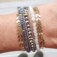 User Generated Content for Nakamol Mixed Chain and Beaded Wrap