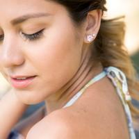User Generated Content for Kate Spade Rise and Shine Small Studs in Light Sapphire