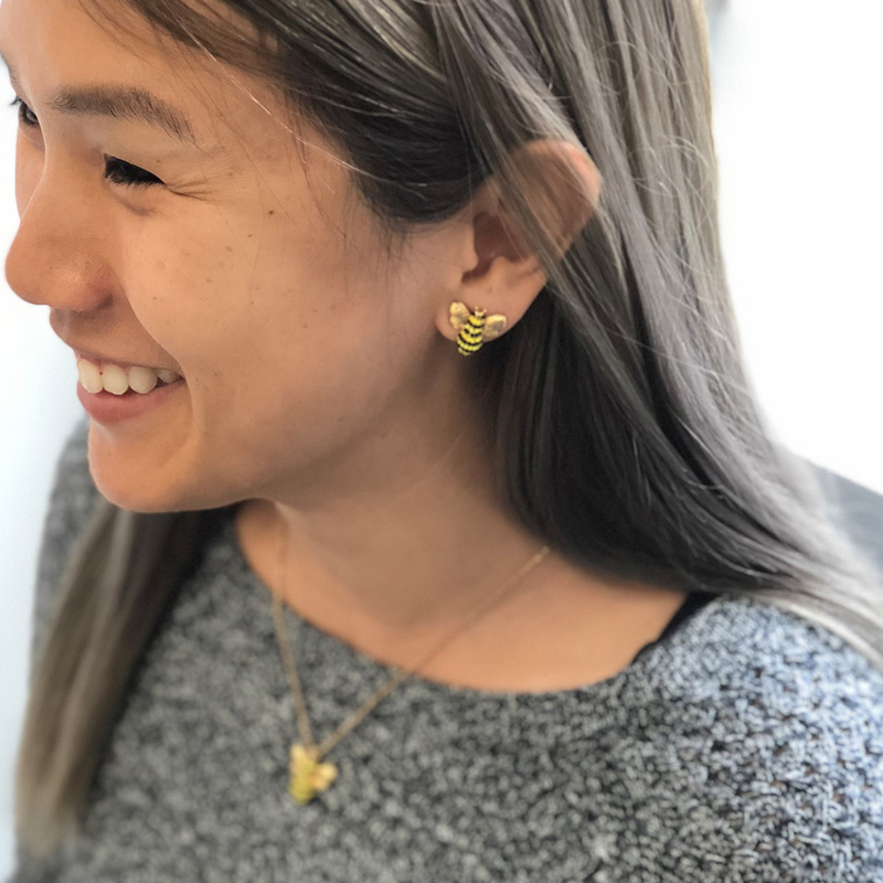 User Generated Content for Kate Spade Picnic Perfect Pave Bee Studs