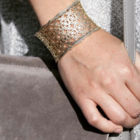 User Generated Content for Kendra Scott Candice Cuff in Gold and Gunmetal