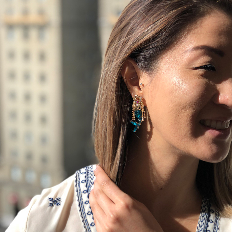 User Generated Content for Perry Street Arista Earrings
