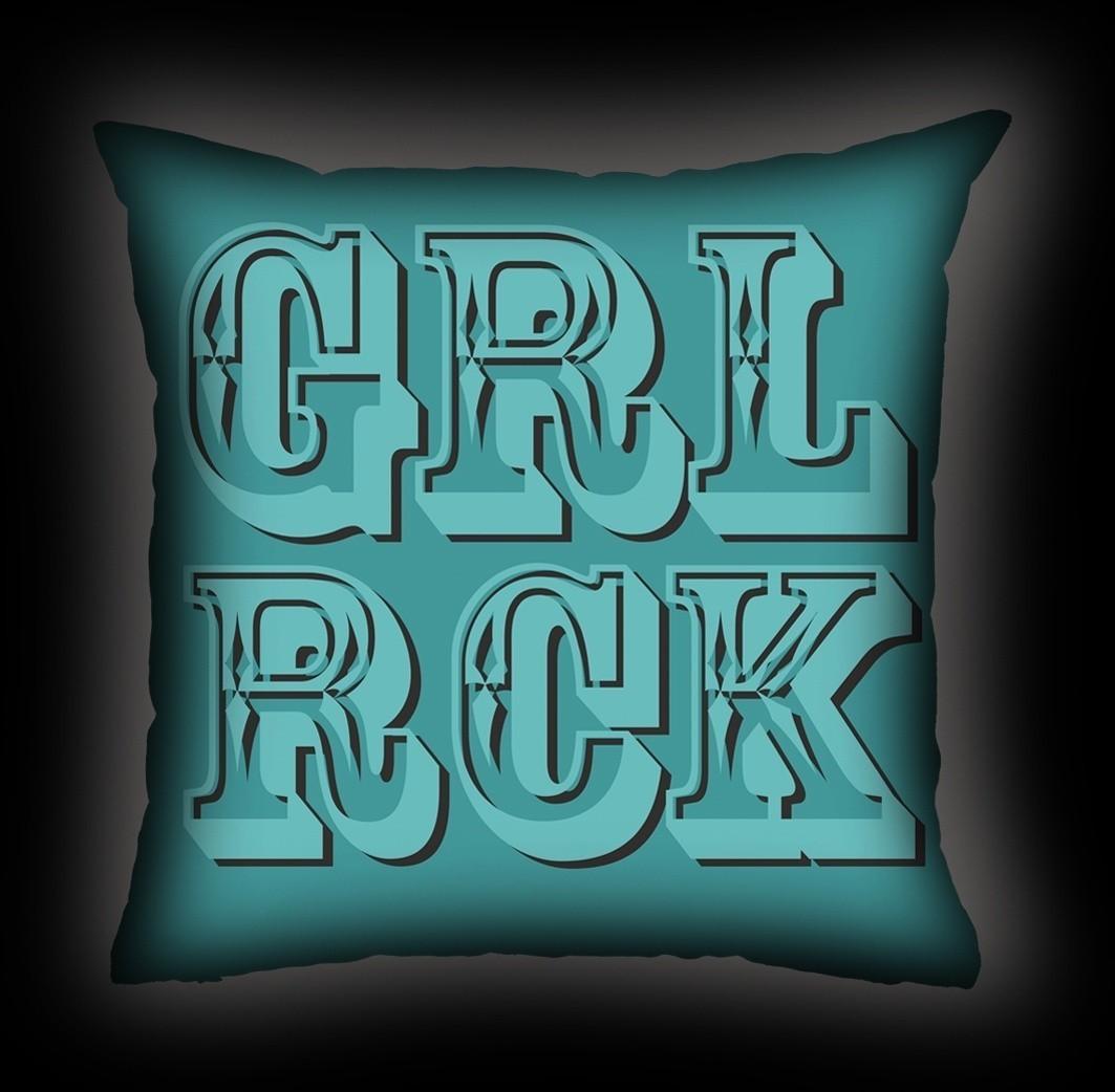 Almofada Bia Lombardi - Girl Rock
