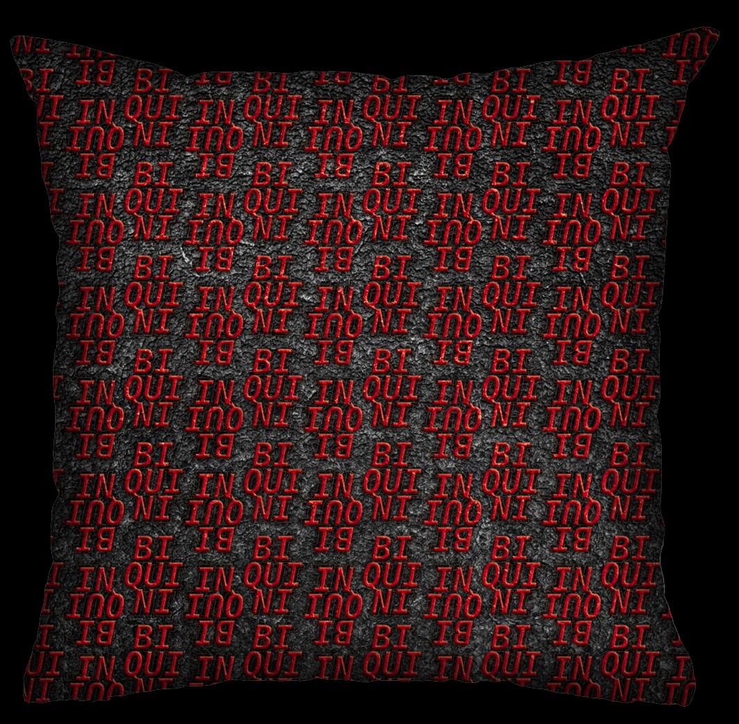 Almofada Biquini - Wall Vermelha