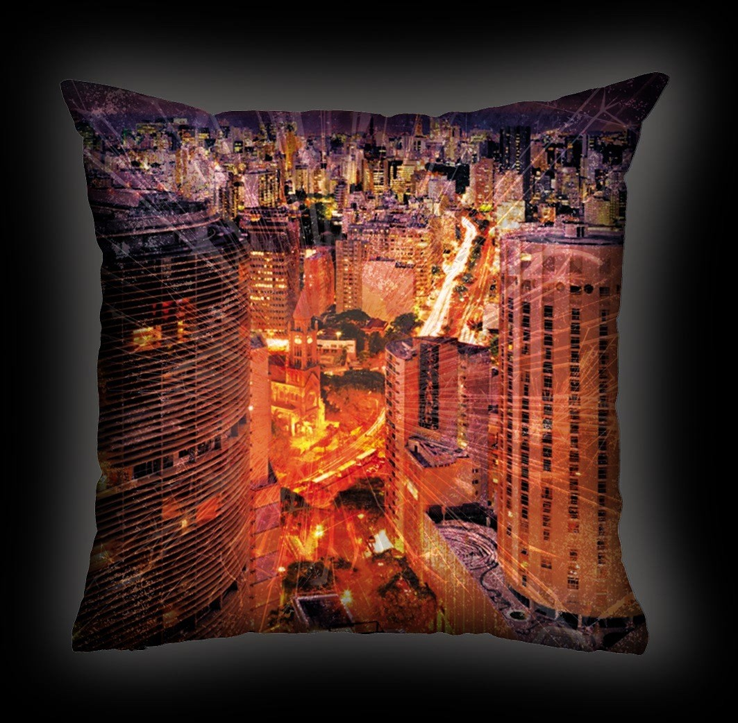 Almofada Ira - Envelheço na Cidade
