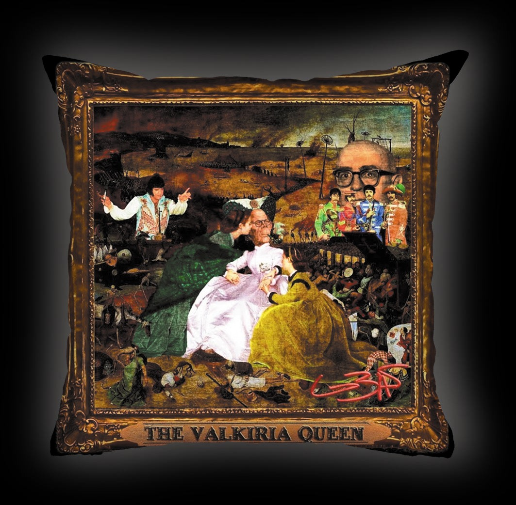 Almofada Lobão - The Valkiria Queen