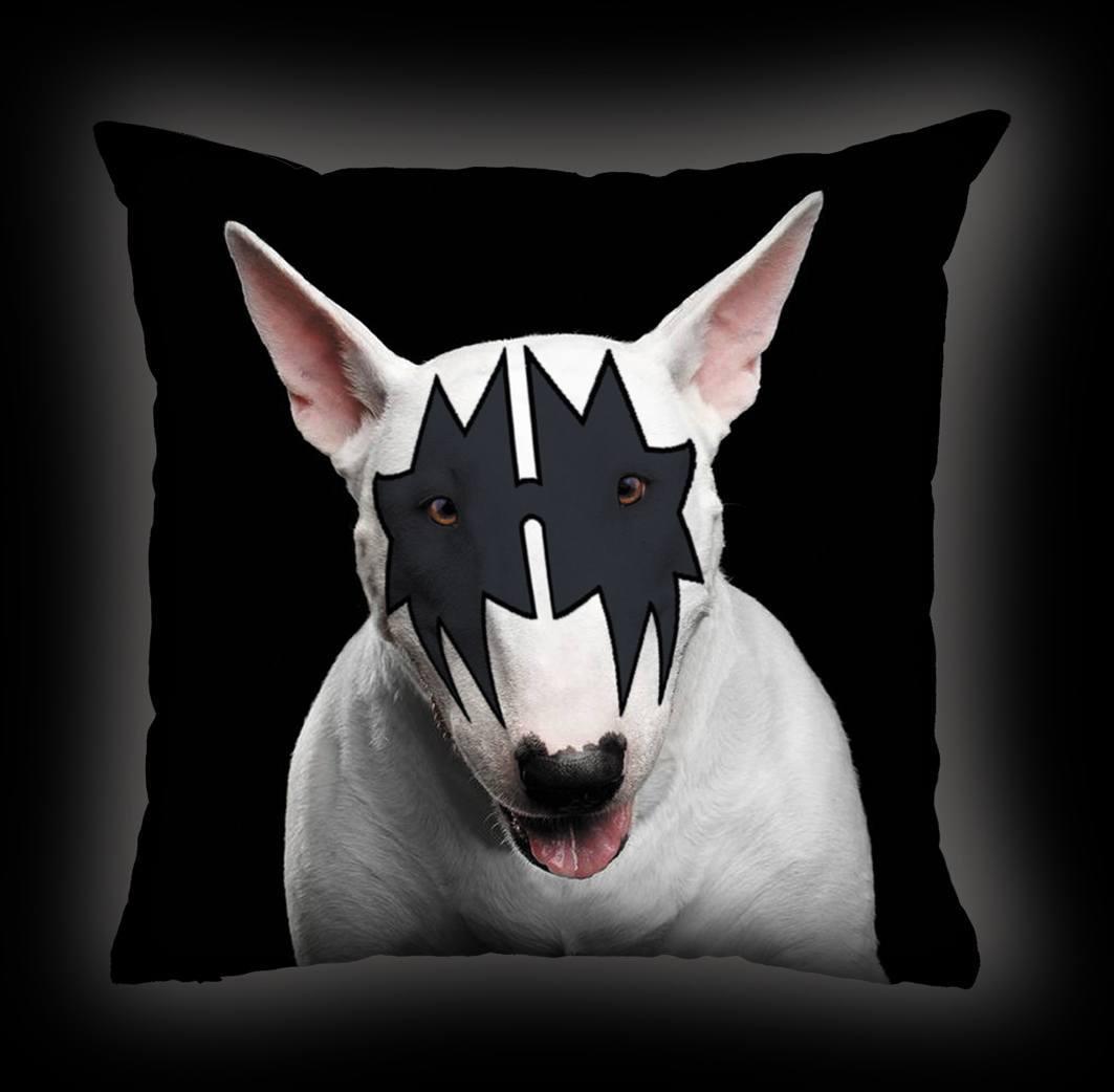 Almofada Luiz Conti - Bull Terrier Kiss