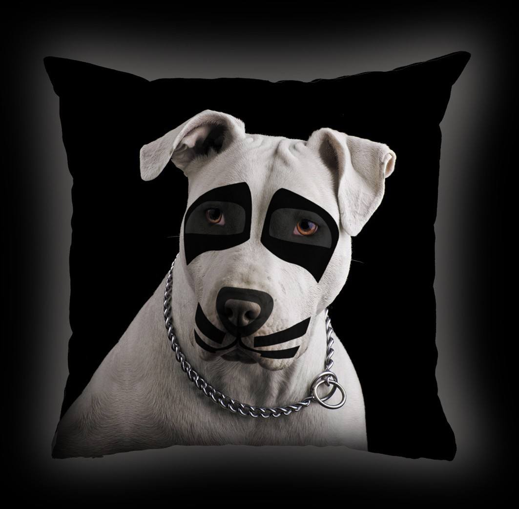Almofada Luiz Conti -Pit Bull Terrier Kiss