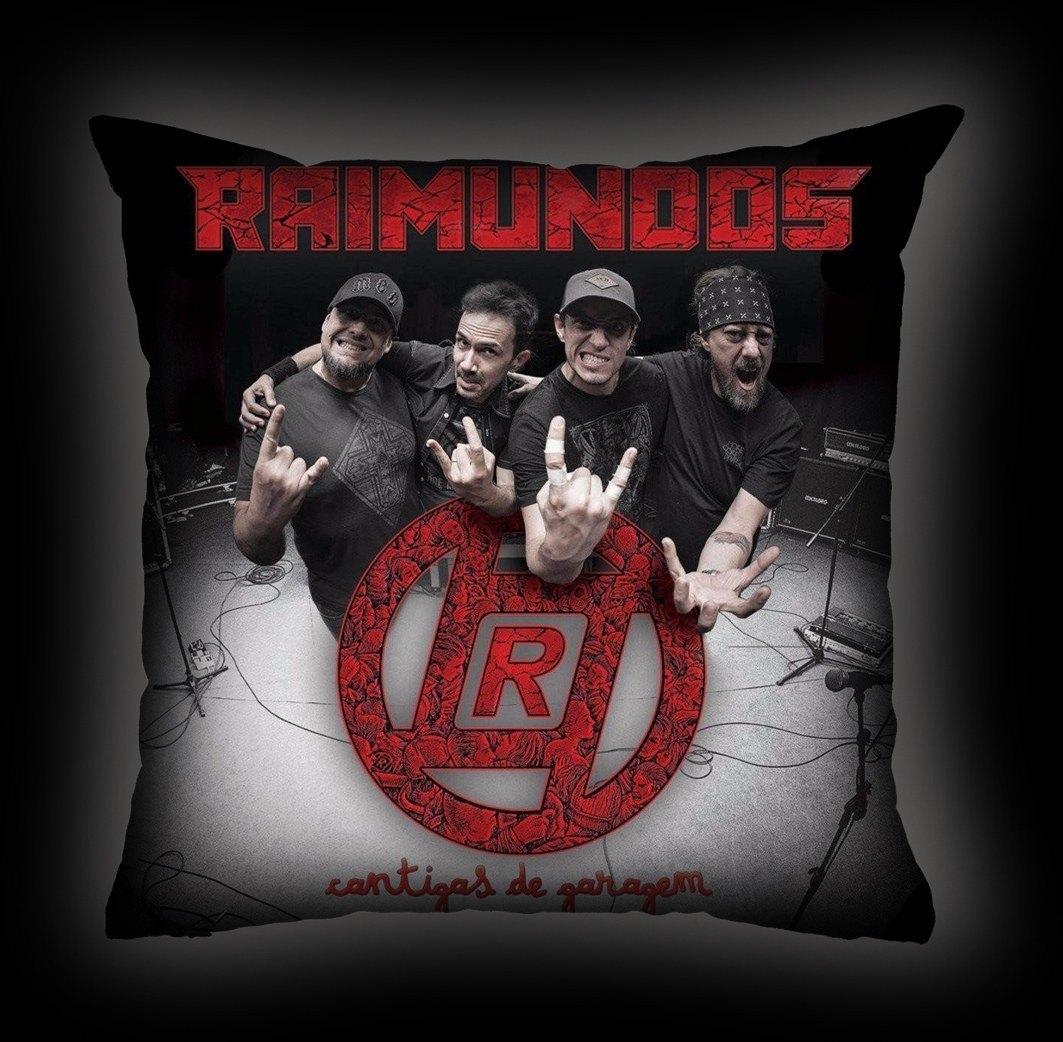 Almofada Raimundos - Cantigas de Garagem