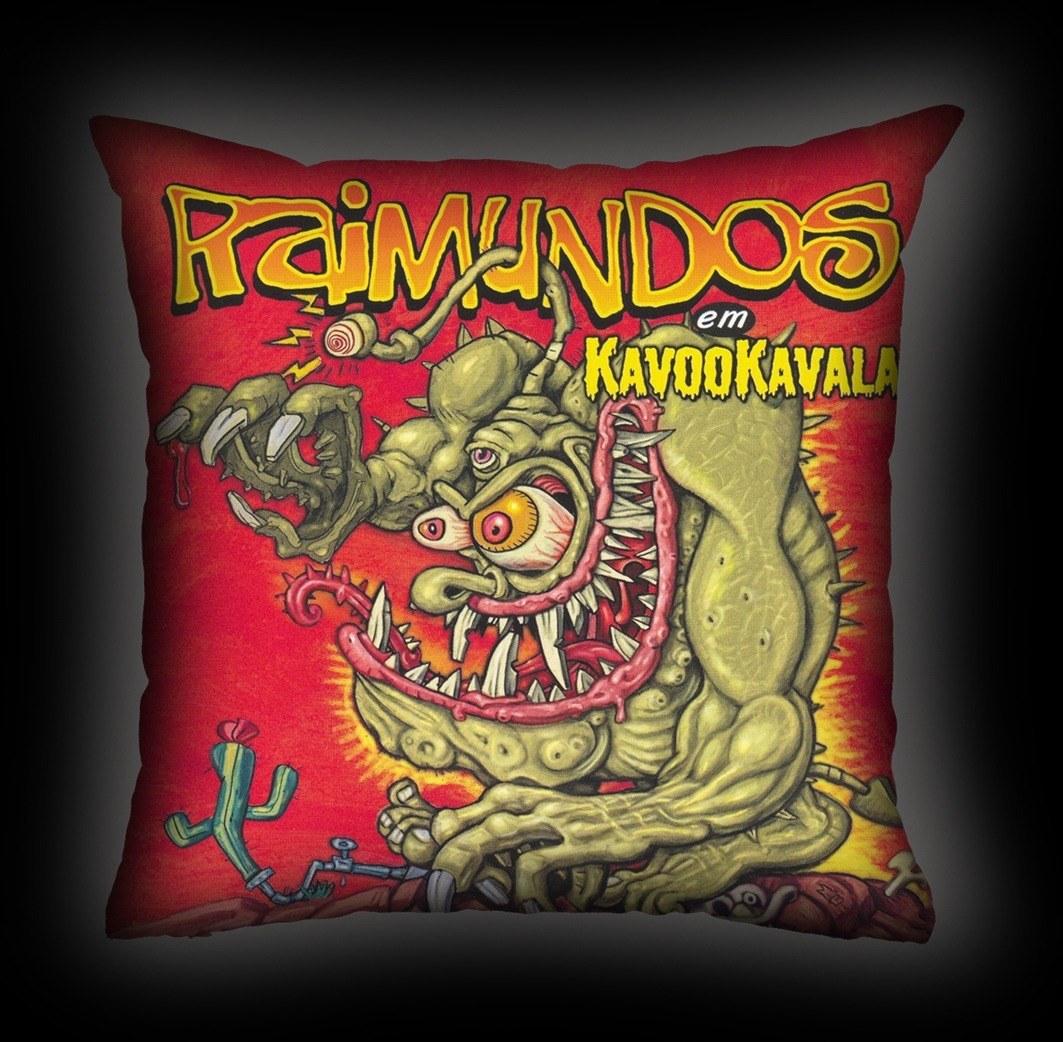 Almofada Raimundos - Kavookavala
