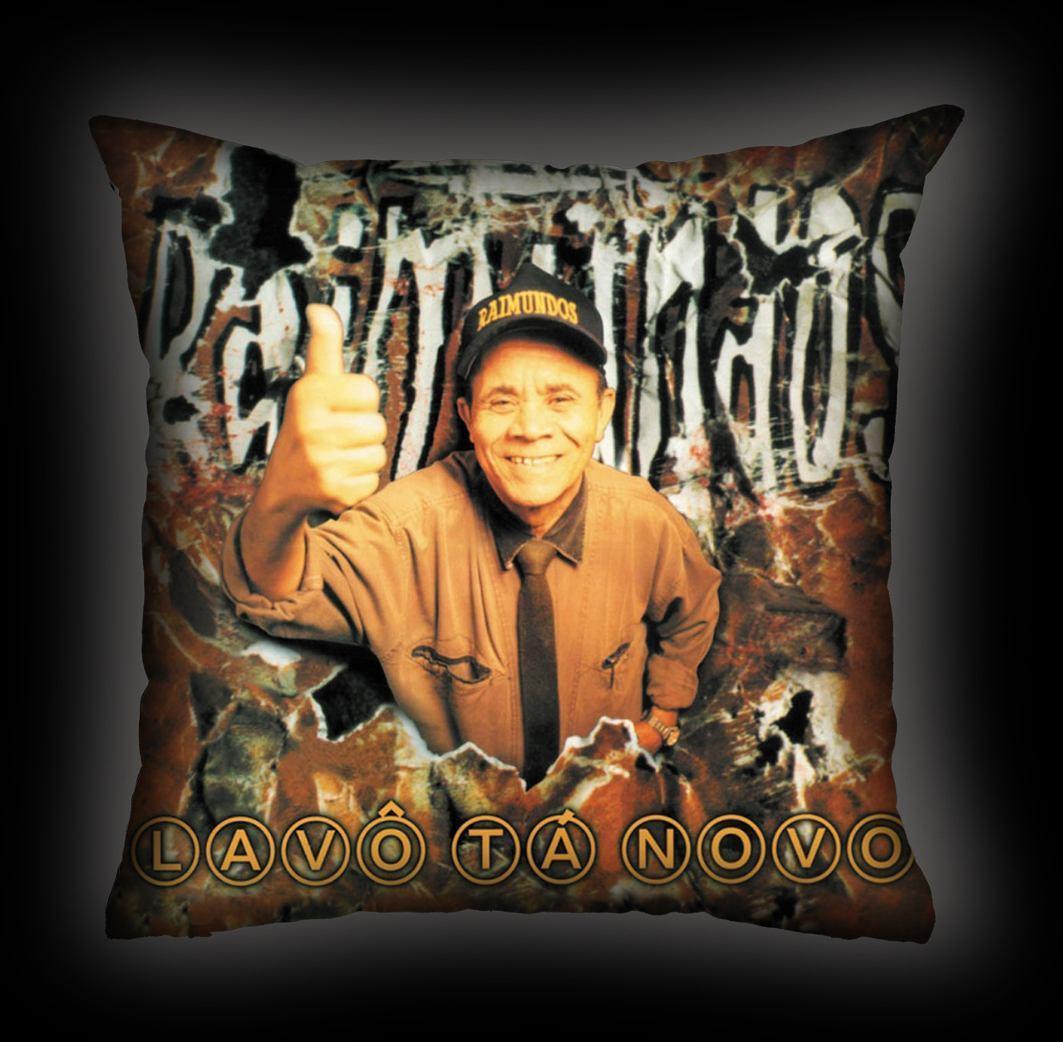 Almofada Raimundos - Lavô ta Novo
