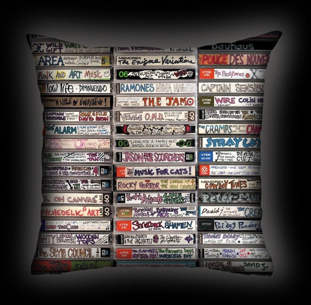 Almofada Rock Use - Fitas-Cassete