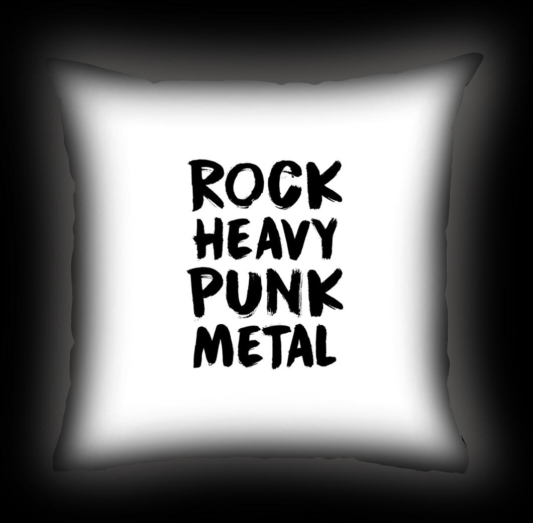 Almofada Rock Use - Rock Styles - Branca
