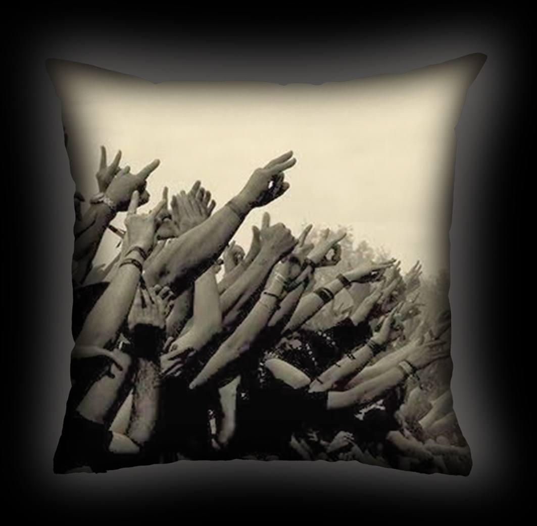 Almofada Rock Use - Rock Vibe