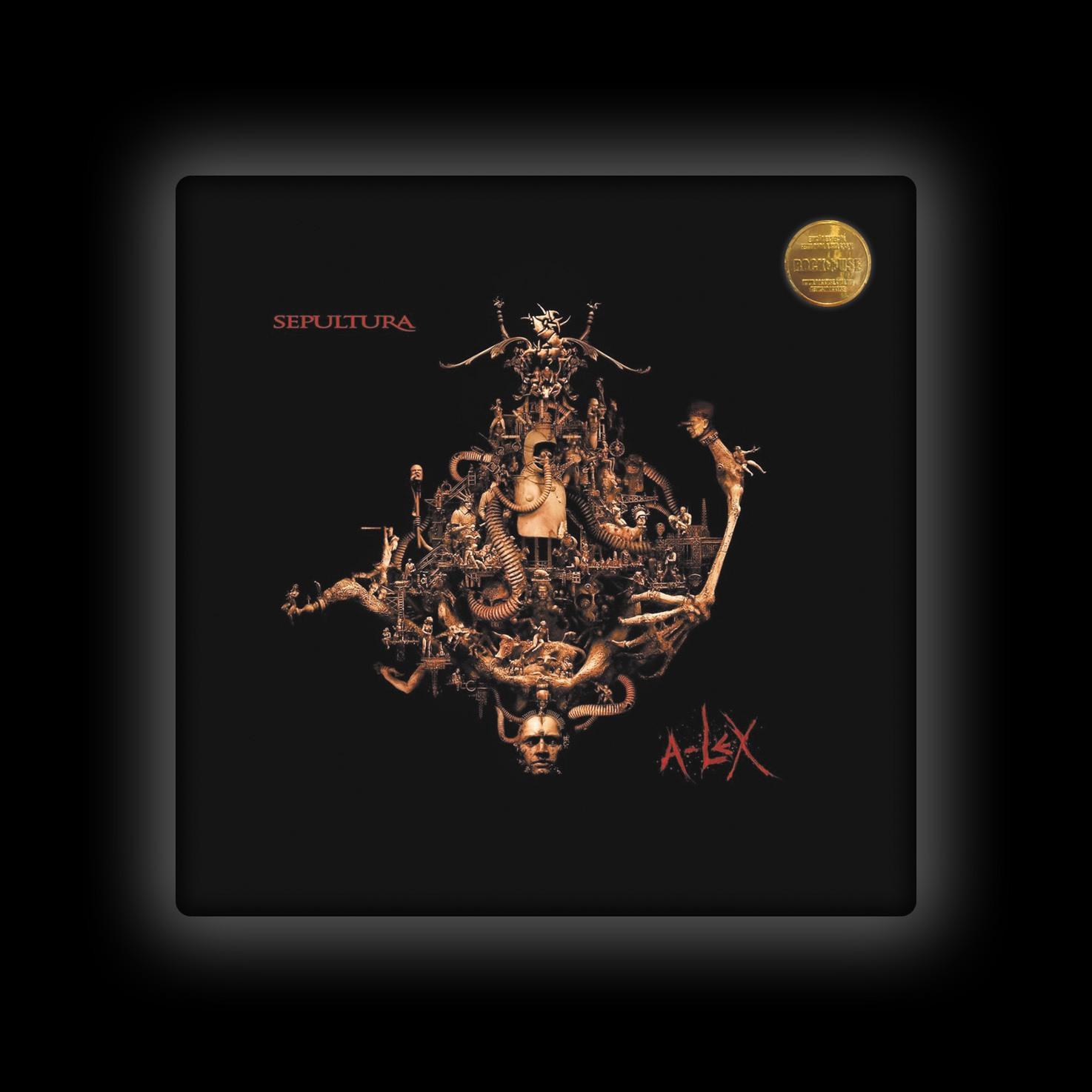 Capa de Almofada Sepultura - A-lex
