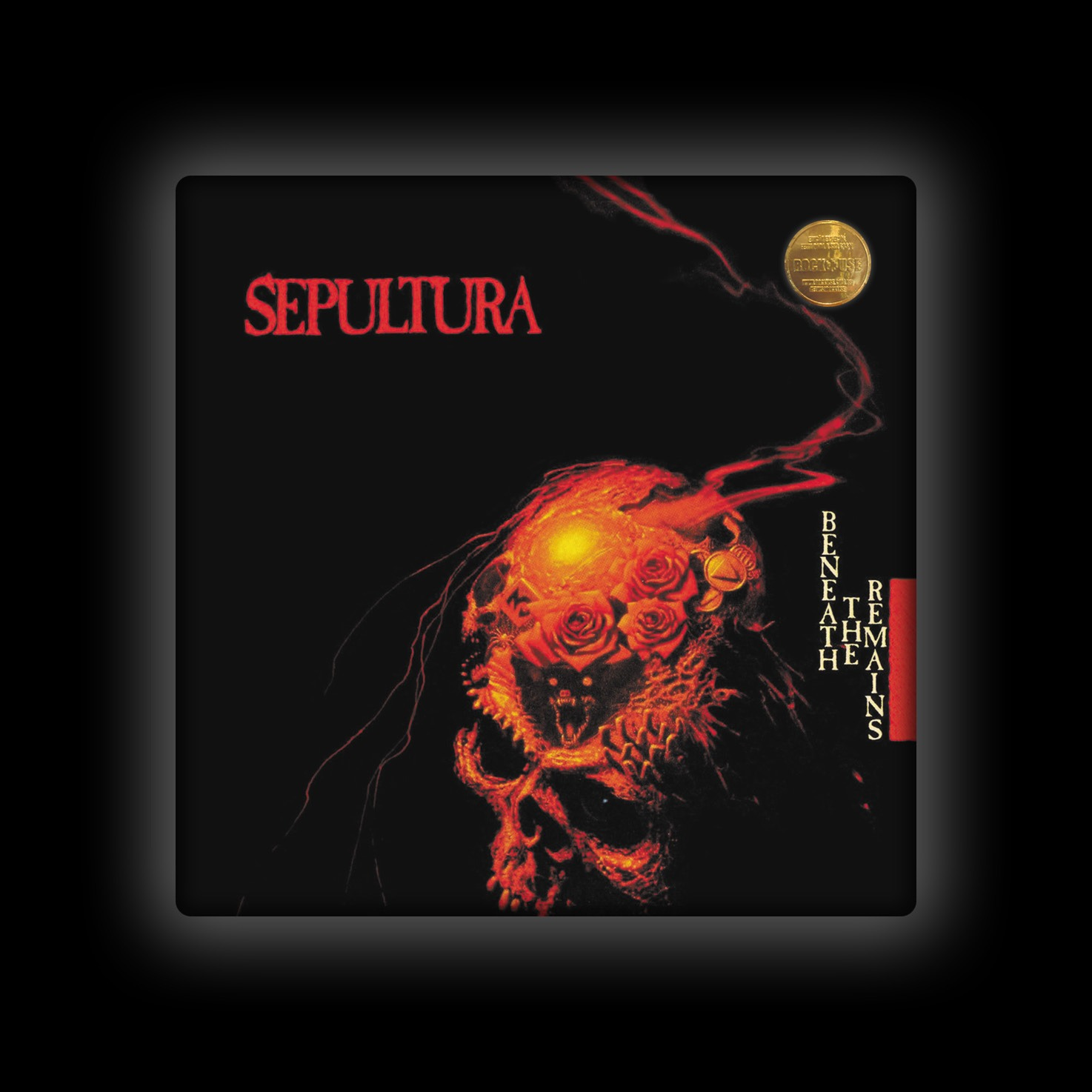 Capa de Almofada Sepultura - Beneath the Remains
