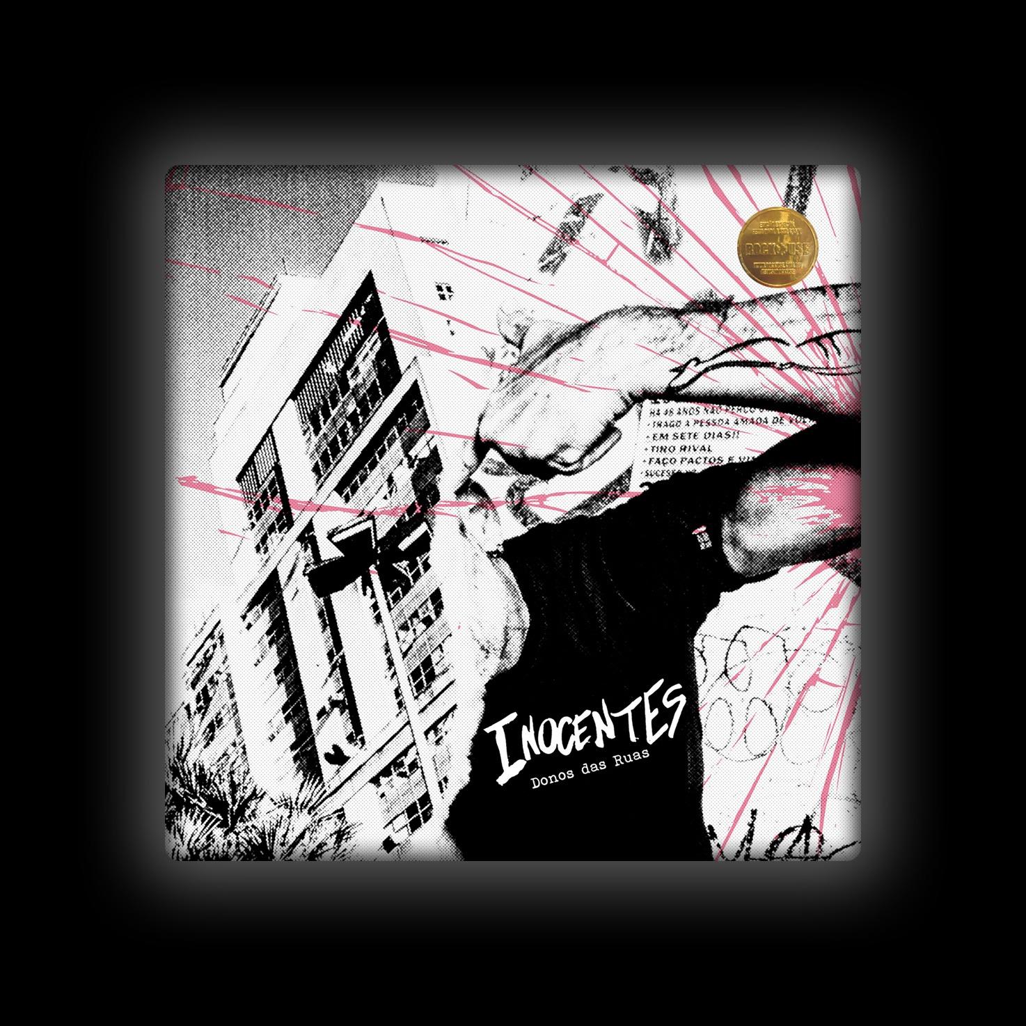 Capa de Almofada Inocentes - Donos da Rua