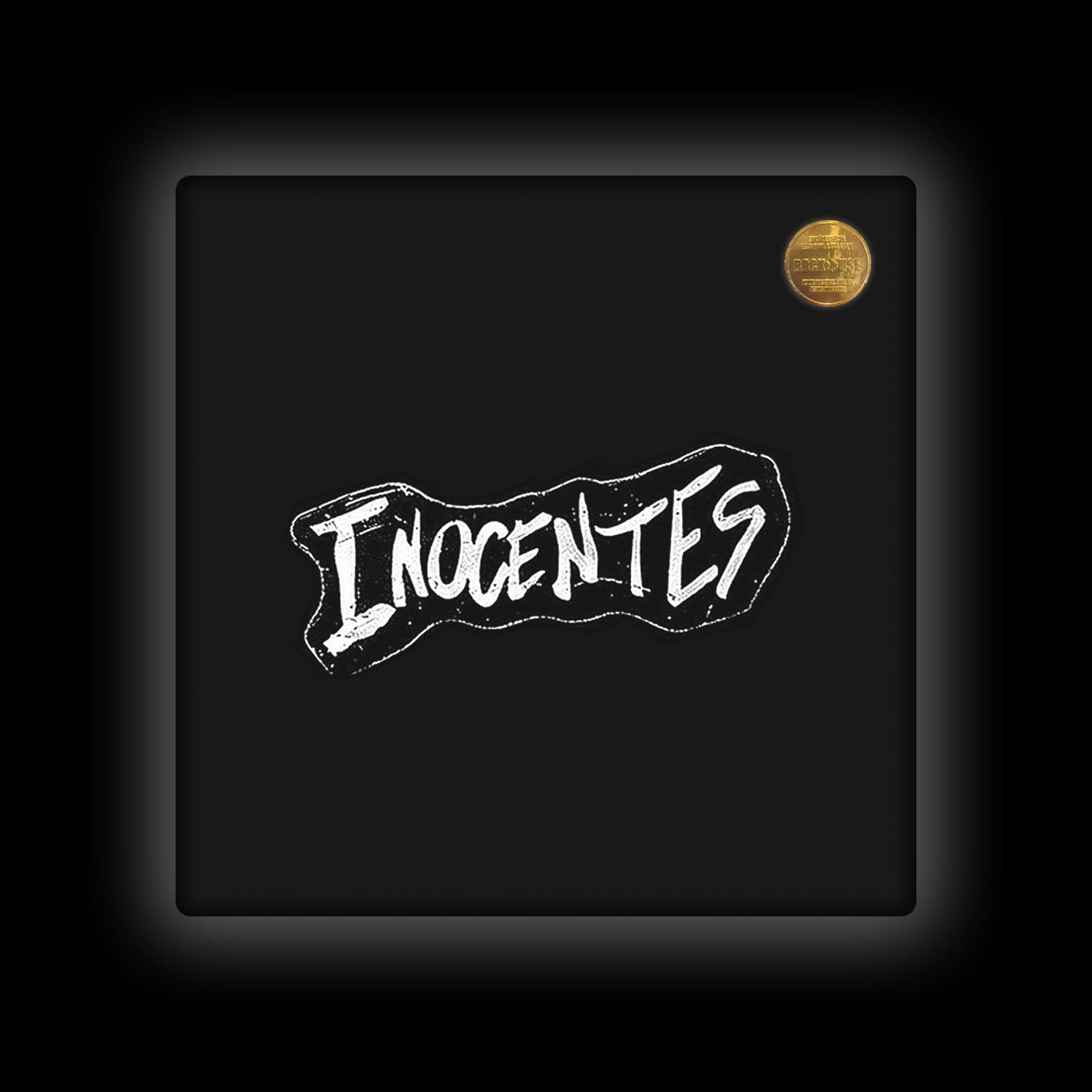 Capa de Almofada Inocentes - Logo