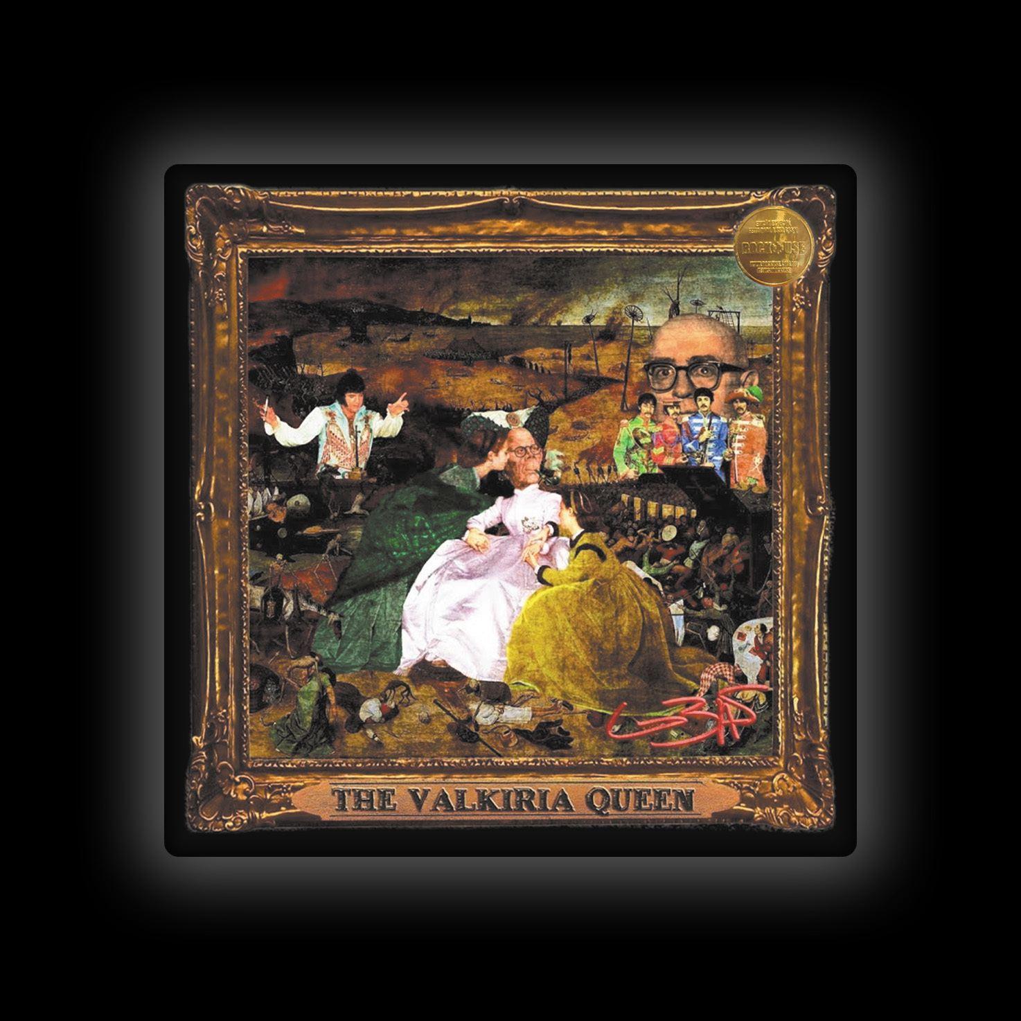 Capa de Almofada Lobão - The Valkiria Queen