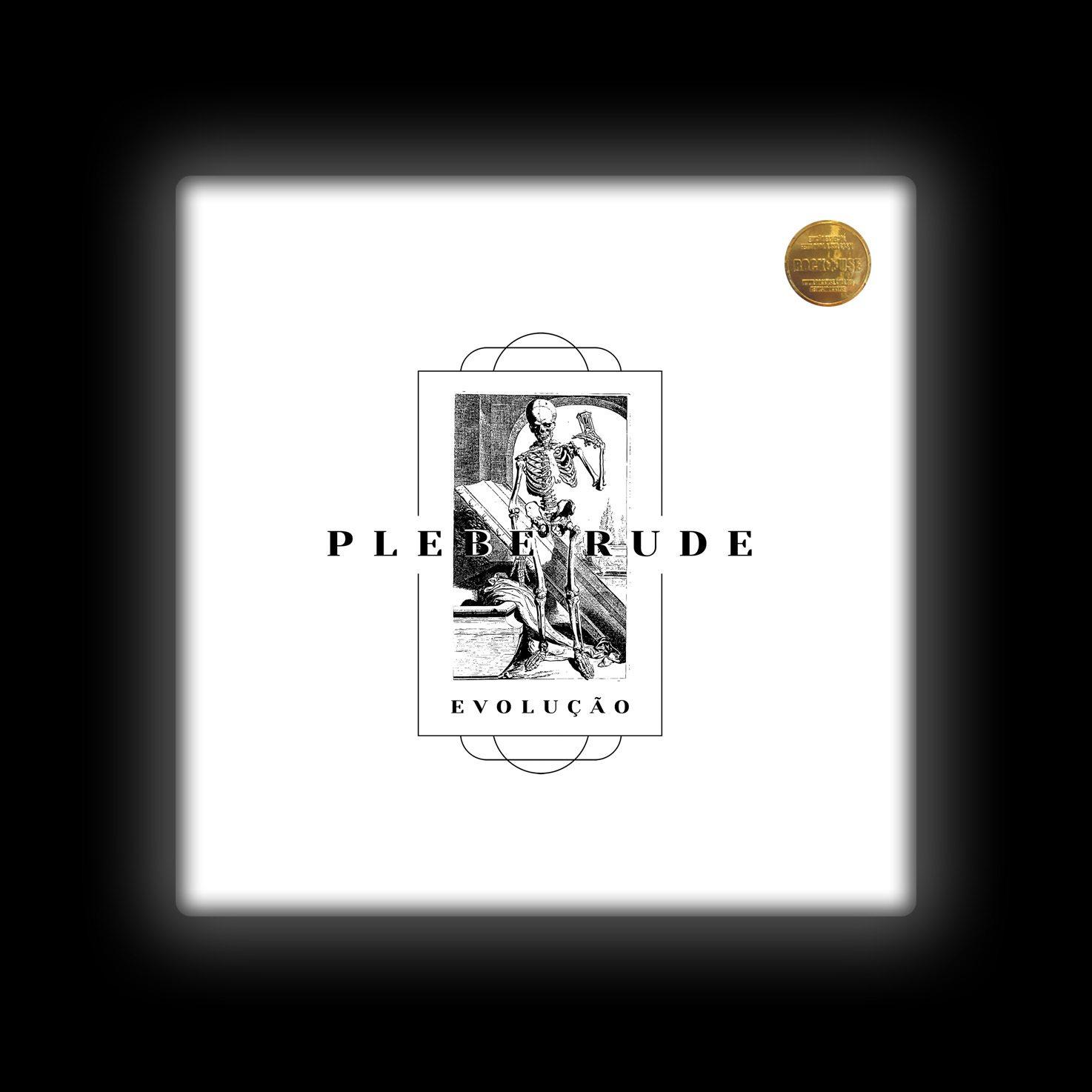 Capa de Almofada Plebe Rude - Evolução (Branca)