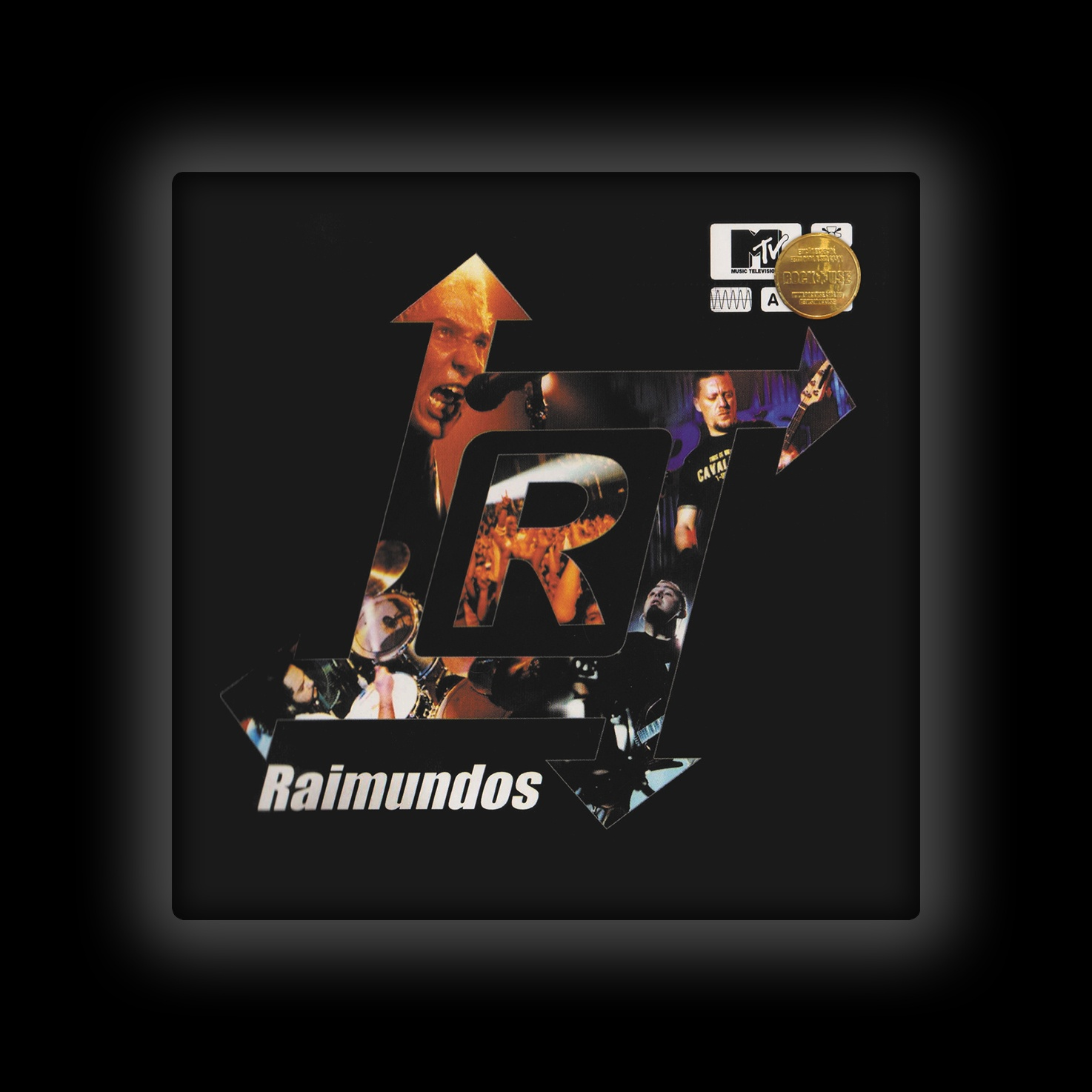 Capa de Almofada Raimundos - MTV Ao Vivo