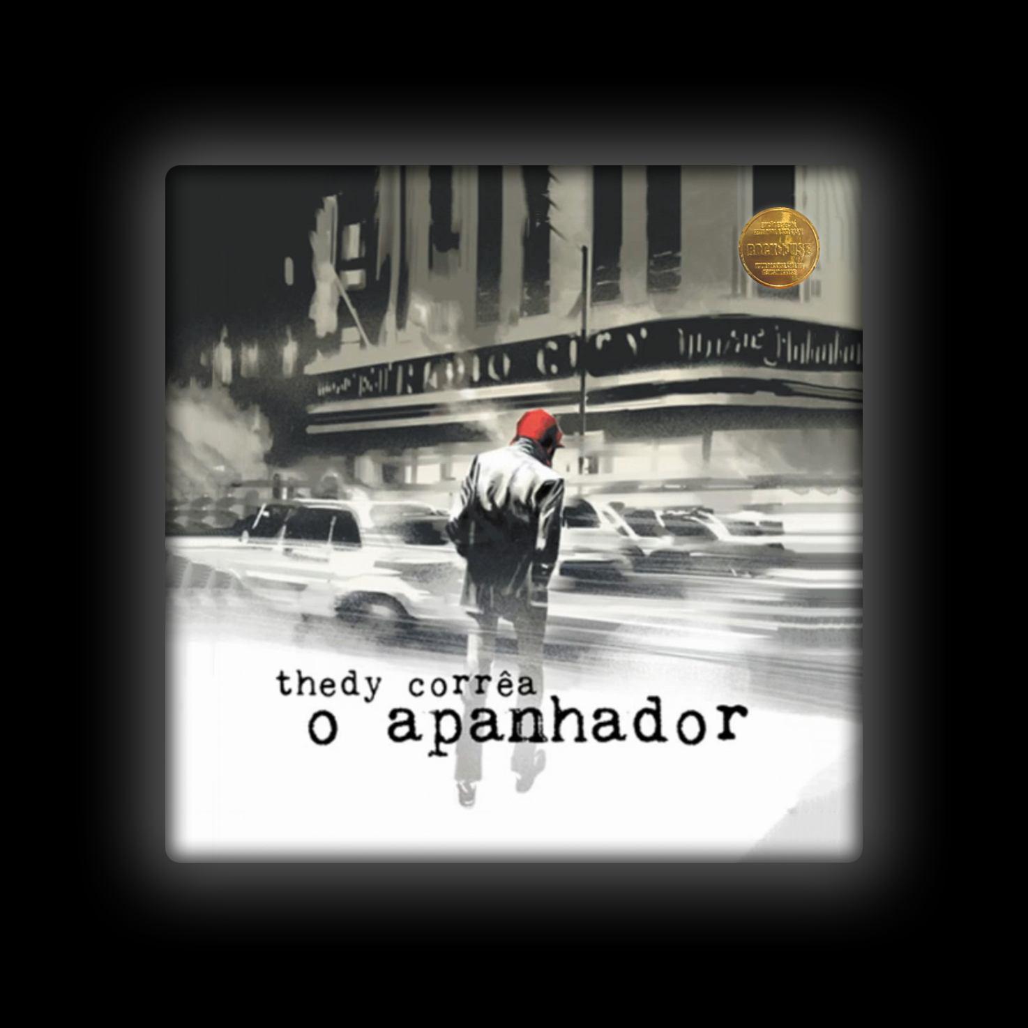 Capa de Almofada Thedy Corrêa - O Apanhador