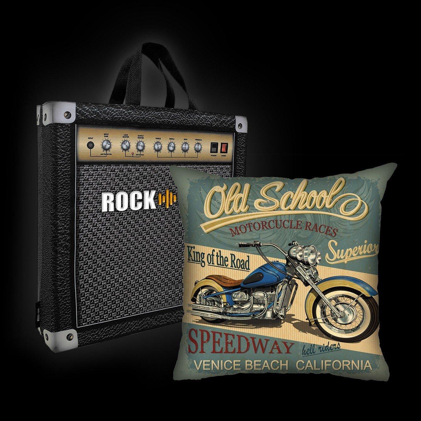 Kit Almofada & Sacola Rock Use - King Of The Road