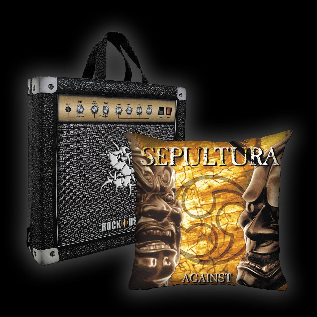 Kit Almofada & Sacola Sepultura - Against