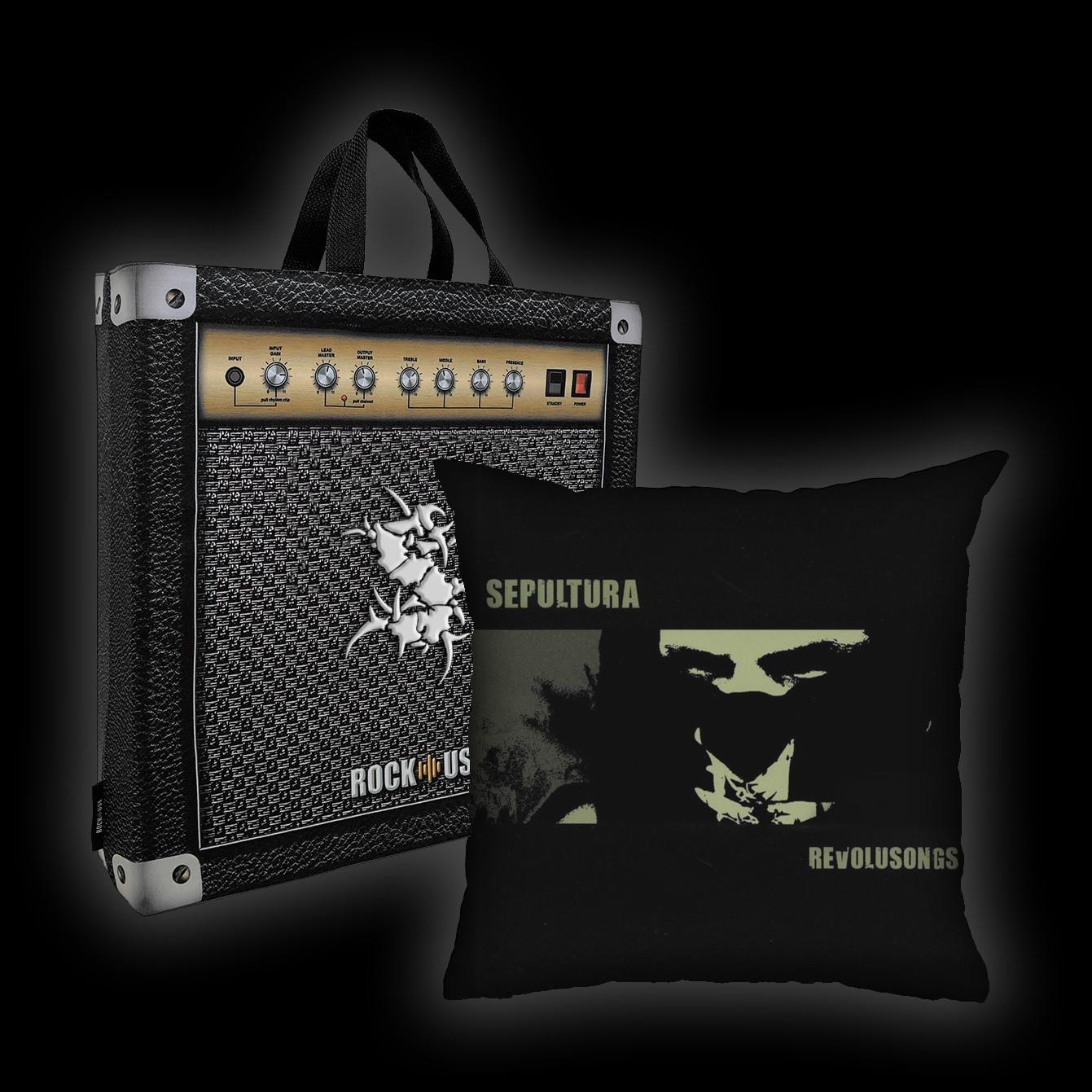 Kit Almofada & Sacola Sepultura - Revolusongs