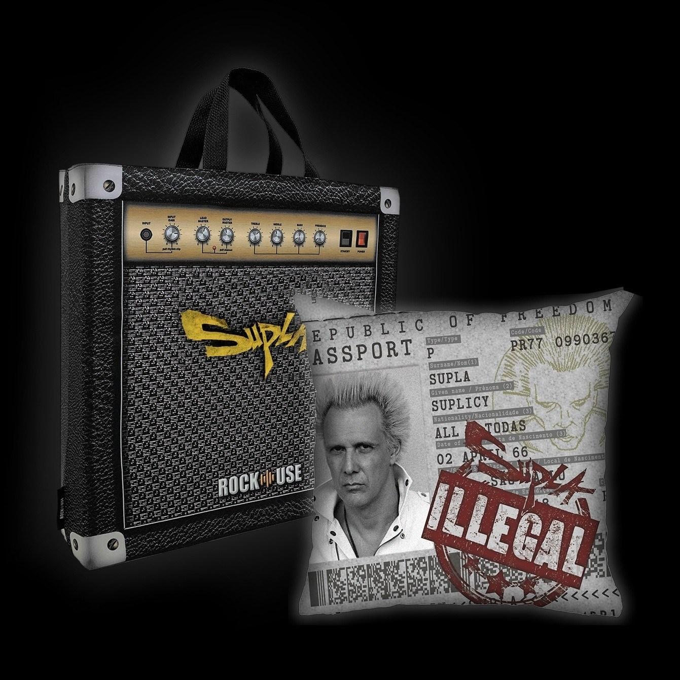 Kit Almofada & Sacola Supla - Illegal