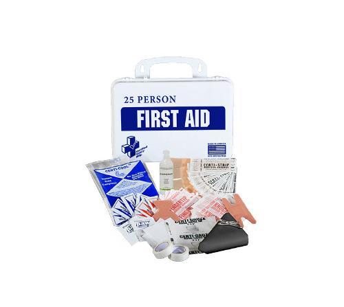 CSM 25 Person ANSI First Aid Kit w/ Eye Wash