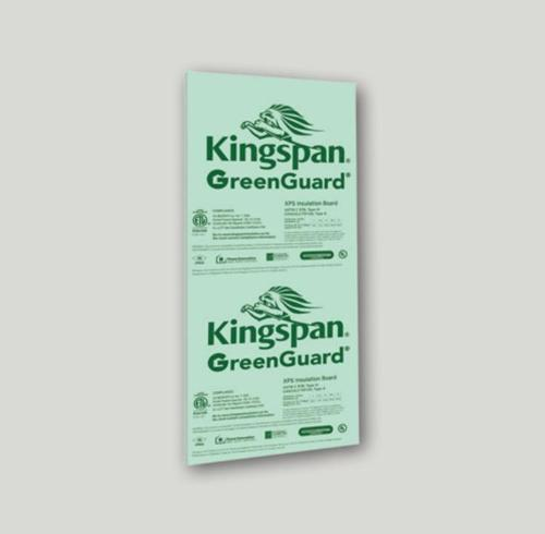 1 1/2 in x 4 ft x 8 ft Kingspan GreenGuard Type IV 25 psi XPS Insulation Board