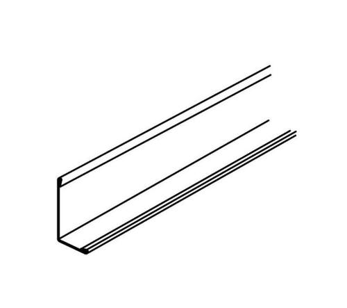 10 ft x 7/8 in x 7/8 in Armstrong Angle Molding / Silver Grey - HD7801SG
