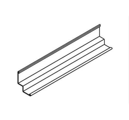 10 ft x 15/16 in x 15/16 in x 1/4 in Armstrong Shadow Molding / White - 7877