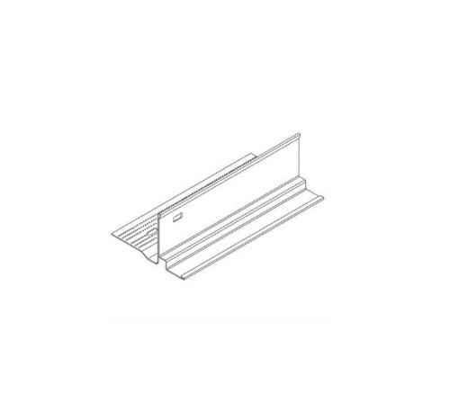 10 ft x 2 11/16 in x 3/8 in Armstrong Shadow Reveal Transition Molding for 15/16 in / White - 7902