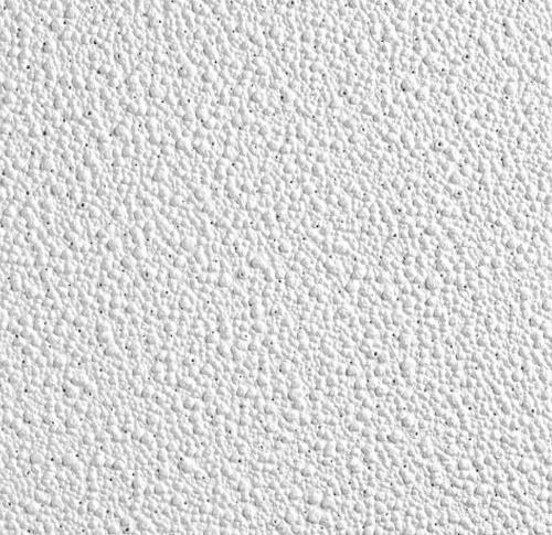 1 in x 2 ft x 2 ft Armstrong Pebble 15/16 in Square Lay-In Panel / White - 2988