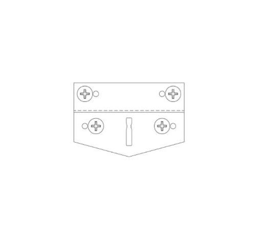 Armstrong Radius Clip - RC2AG