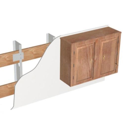 5 1/8 in x 48 in ClarkDietrich Danback Flexible Wood Backing - 24 in O.C. Spacing