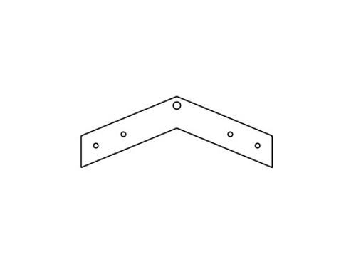 Armstrong 45 Degree Drywall Angle Clip - DW45C
