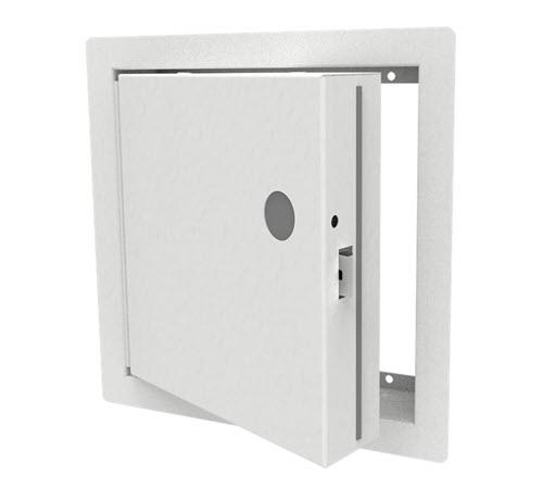 18 in x 18 in Babcock-Davis Insulated Fire-Rated Access Door w/ 1 in Flange & Knurled Knob