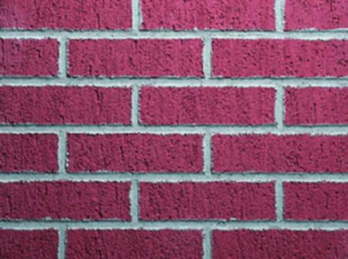 Dryvit Custom Brick Finish - New York Brick Template 3/8 in Grout