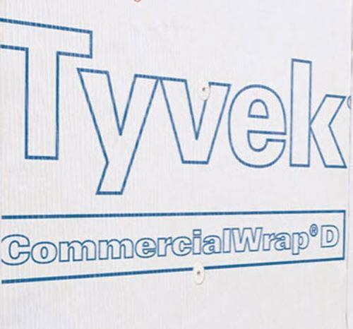 10 ft x 125 ft DuPont Tyvek CommercialWrap D