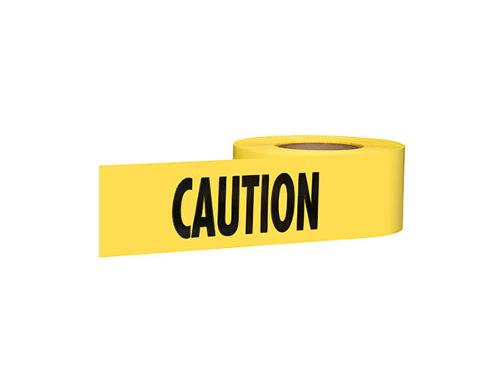 3 in x 1000 ft Empire Level Caution Barricade Tape - Yellow