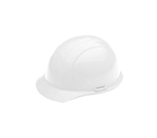 ERB Americana Cap Style Hard Hat w/ Accessory Slots & 4-Point Slide-Lock Suspension - White