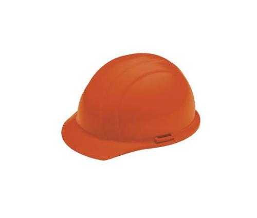 ERB Americana Cap Style Hard Hat w/ Accessory Slots & 4-Point Slide-Lock Suspension - Orange