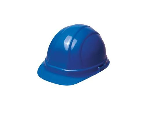 ERB Omega II Cap Style Hard Hat w/ Accessory Slots & 6-Point Mega Ratchet Suspension - Blue