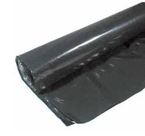 12 ft x 100 ft x 6 mil Poly Sheeting - Black